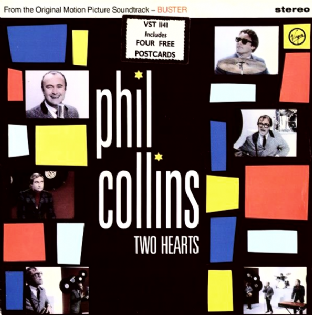 "Phil Collins - Two Hearts (12"") (VG+/VG)"